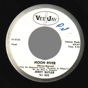 Butler,Jerry Moon+River+/+Aware+Of+Love 45RPM